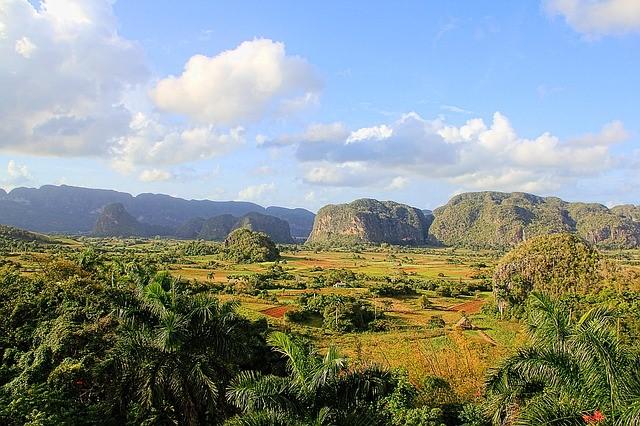 キューバのビニャーレス渓谷