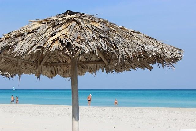 キューバのバラデロビーチ