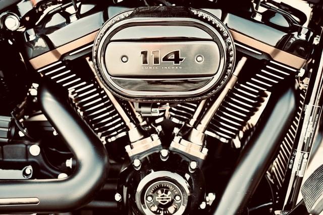 ハーレーツインエンジン